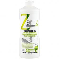 Zero Żelowy płyn do mycia naczyń z octem jabłkowym 500ml