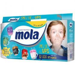 Mola UPS papier toaletowy Buźki 8 sztuk