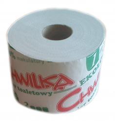 Chwilka EKO papier toaletowy 12szt. biały makulatura