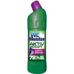 WC Meister żel do wc Aktiv Kraft 1L zielony