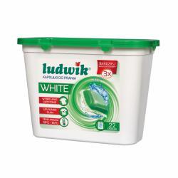 Ludwik kapsułki do prania White 22 sztuki