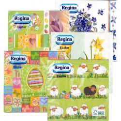 Regina serwetki trzywarstwowe Wielkanocne 14 sztuk