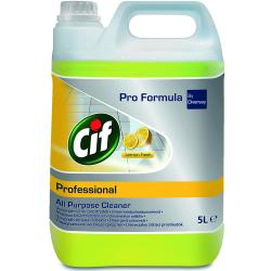 Cif Professional płyn uniwersalny 5L o zapachu cytrynowym