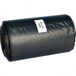 Ekosell worki LDPE 60l 50 szt. czarne
