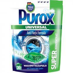 Purox kapsułki do prania tkanin 30 sztuk uniwersalne