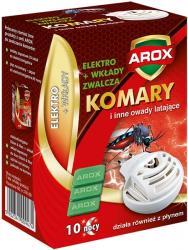 Arox urządzenie elektryczne + wkłady na komary 10 sztuk