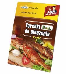 Jan Niezbędny podłóżne torebki do pieczenia dużych ryb 5 szt.