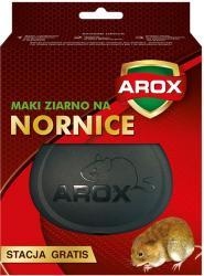 Arox ziarno na nornice 100g + stacja deratyzacyjna