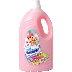 Cluo płyn do płukania tkanin kwiatowy - różowy 4L