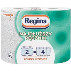Regina ręcznik papierowy dwuwarstwowy Najdłuższy Ręcznik 2szt.