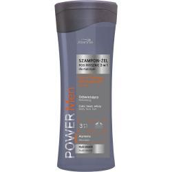 Joanna Power Men 3w1 300ml męski szampon i żel pod prysznic