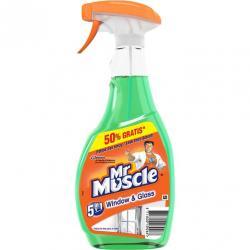 Mr Muscle płyn do szyb 500+250ml zielony rozpylacz