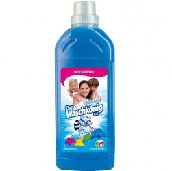 Der Waschkonig koncentrat do płukania niebieski 1L