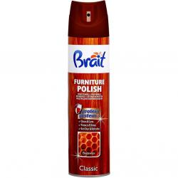 Brait płyn do mebli w sprayu Classic Beeswax 350ml