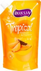 Mydło w płynie Luksja Tropical mango, zapas 400ml
