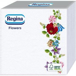 Regina serwetki 33x33cm 60szt. Kwiatowe