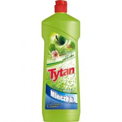 Tytan mleczko do szorowania 900g jabłkowe