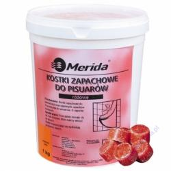 Merida kostki zapachowe do pisuarów 1kg truskawkowe
