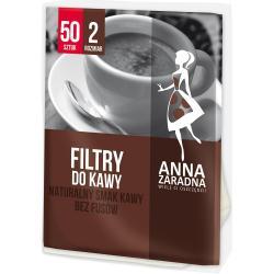 Anna Zaradna filtry do kawy Rozmiar 2 50szt