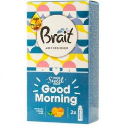 Brait Mini Spray wkład do odświeżacza 2x10ml Good Morning
