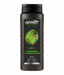 Apart żel pod prysznic MEN 3w1 Guarana i Rokitnik 500ml