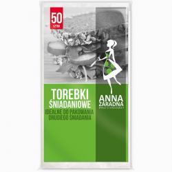Anna Zaradna torebki papierowe 50 sztuk