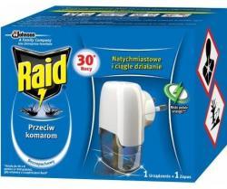 Raid electric na komary urządzenie elektryczne + płyn 30 nocy