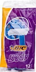 Bic Body 1-ostrzowe golarki 12szt