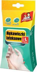 Jan Niezbędny jednorazowe rękawice lateks L 10 sztuk