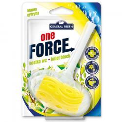 General Fresh One Force kostka do wc cytrynowa