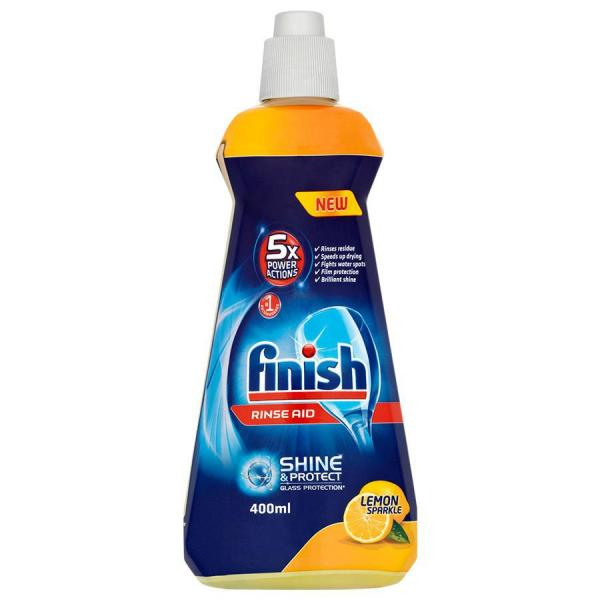 Finish nabłyszczacz do zmywarek 400ml Lemon