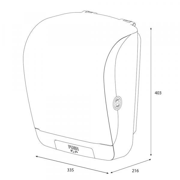 Katrin System 90045 podajnik ręczników automatycznie odcinający listki