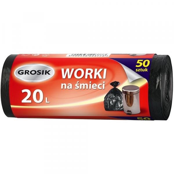 Grosik worki na odpady HD 20L/50szt.