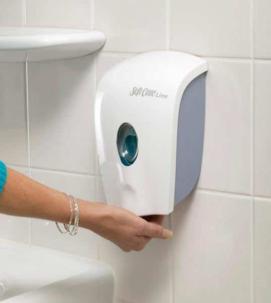 Diversey Soft Care PAKIET H2 mydło w piance x12 + dozownik