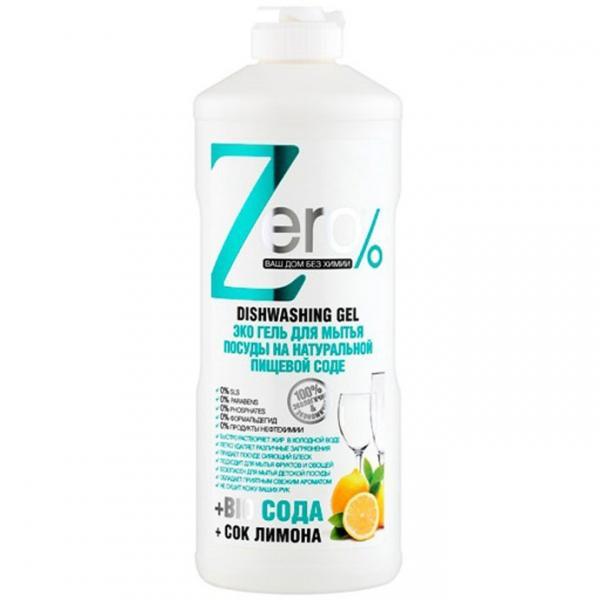 Naturalny płyn do mycia naczyń z sodą oczyszczoną ZERO 500 ml