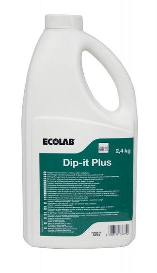 Ecolab Dip it Plus proszek do wybielania naczyń 2,4 kg