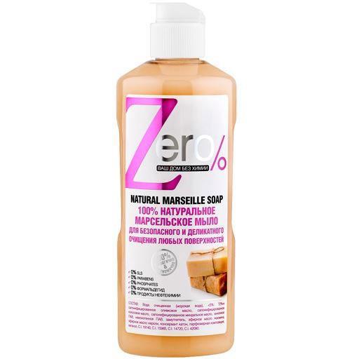 Naturalne mydło ZERO do czyszczenia różnych powierzchni 500 ml