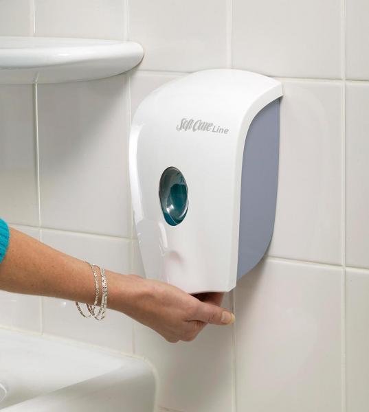 Diversey Soft Care PAKIET H1 mydło w płynie x12 + dozownik